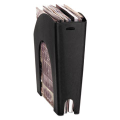 Rubbermaid Regeneration Recycled Plastic Magazine File, 4 5/8 x 11 x 11 3/8, Black