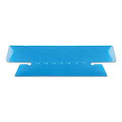 Pendaflex Hanging File Folder Tabs, 1/3 Tab, 3 1/2 Inch, Blue Tab/White Insert, 25/Pack