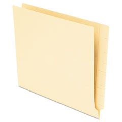 Pendaflex Anti Mold and Mildew End Tab File Folders, Straight Tab, Letter, Manila, 75/Box