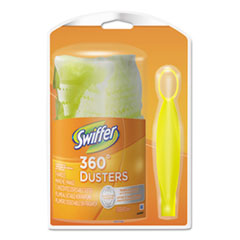 Swiffer 360 Starter Kit, Handle with One Disposable Duster