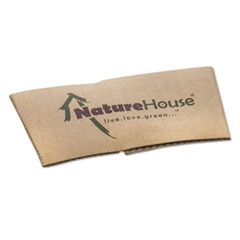 NatureHouse Hot Cup Sleeves, Fits 10oz, 12oz, 16oz, 20oz Cups, 50/Pack