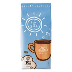 Life Is Good Coffee, Light Hearted - Light Roast, 11oz Bag