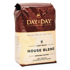PapaNicholas Coffee Premium Coffee, Day To Day House Blend, Ground, 33oz Bag
