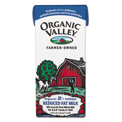 Organic Valley Milk, 2% Reduced Fat,L, Resealable Aseptic Container