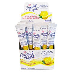 Crystal Light Flavored Drink Mix, Lemonade, 30 .17oz Packets/Box