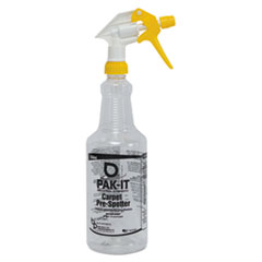 PAK-IT Color-Coded Trigger-Spray Bottle, 32 oz, Yellow: Carpet Pre-Spotter