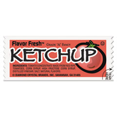 Diamond Crystal Flavor Fresh Ketchup Packets, .317oz Packet, 200/Carton