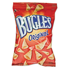 General Mills Bugles Corn Snacks, 3oz, 6/Box