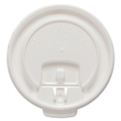 SCC DLX8RPK SOLO Cup Company Lift Back & Lock Tab Cup Lids For Trophy Insulated Thin-Wall Foam Hot/Cold Cups SCCDLX8RPK