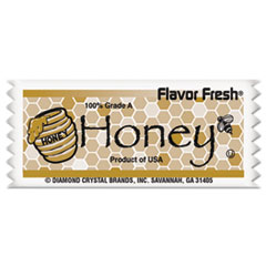Diamond Crystal Flavor Fresh Honey Pouches, .317oz Packet, 200/Carton