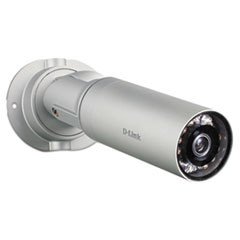 D-Link DCS-7010L HD Mini Bullet Outdoor Surveillance Camera