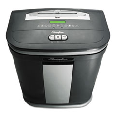 Swingline SM12-08 Light-Duty Micro-Cut Shredder, 12 Sheet Capacity