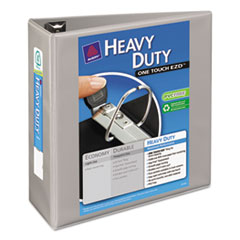 Avery Heavy-Duty View Binder w/Locking 1-Touch EZD Rings, 4