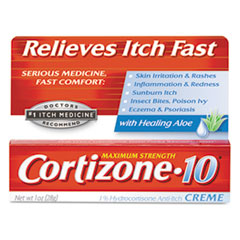 Cortizone-10 Maximum Strength Anti-Itch Creme, 1oz Tube