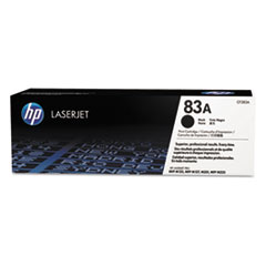 HP 83A (CF283A) Black Original LaserJet Toner Cartridge for LaserJet Pro MFP M125 / M127