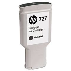 C1Q12A (HP-727) Ink, 300 mL, Matte Black