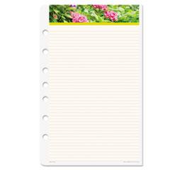 Day-Timer Garden Path Notepads w/Four Designs, 5-1/2 x 8-1/2