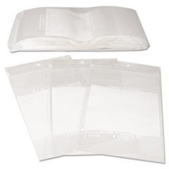 C-Line Write-On Recloseable Small Parts Bags, Poly, 4 x 6, Clear, 1000/Carton