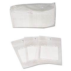 C-Line Write-On Recloseable Small Parts Bags, Poly, 2 x 3, Clear, 1000/Carton
