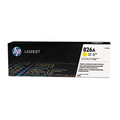 HP 826A, (CF312A) Yellow Original LaserJet Toner Cartridge