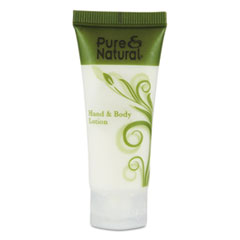 Pure & Natural Hand & Body Lotion, .75 oz, 288/Carton