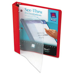 Avery See-Thru Binder with Round Ring, 1