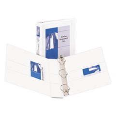 Avery Durable View Binder with Two Booster EZD Rings, 1-1/2