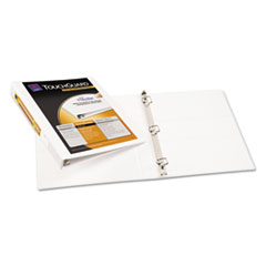 Avery Touchguard Antimicrobial View Binder with Slant Rings, 1