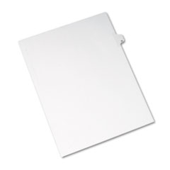 Avery Allstate-Style Legal Side Tab Divider, Title: 32, Letter, White, 25/Pack