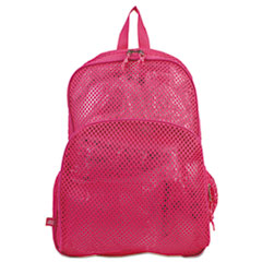 Eastsport® BAG CLOTH MESH PK Mesh Backpack, 12 X 5 X 18, Pink