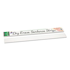 Pacon Dry Erase Sentence Strips, 24 x 3, White, 30/Pack