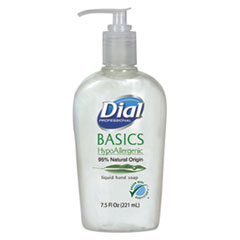 Dial Professional Basics Liquid Hand Soap, 7.5oz, Honeysuckle