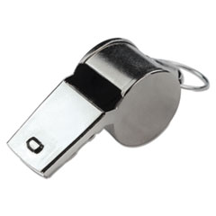 Champion Sports Sports Whistle, Medium Weight, Metal, Silver