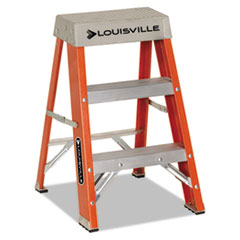Louisville Fiberglass Heavy Duty Step Ladder, 28.28