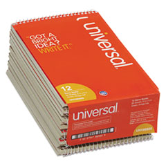 Universal Steno Book, Gregg Rule, 6 x 9, Green, 80 Sheets/Pad