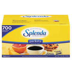 Splenda No Calorie Sweetener Packets, 700/Box