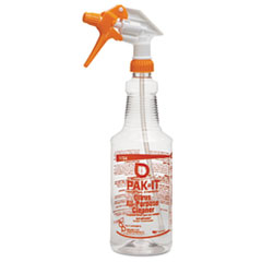 BIG 578420004012 PAK-IT® Color-Coded Trigger-Spray Bottle BIG578420004012