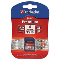 VER 96171 Verbatim Premium SDHC Cards VER96171