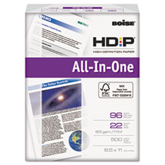 Boise ASPEN HD:P All-In-1 Office Paper, 96 Brightness, 8-1/2 x 11, White, 500 Shts/Rm
