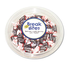 Advantus Tootsie Roll Break Bites, Chocolate Candy, 17oz Bowl