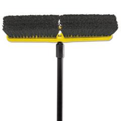 RCP 9B07BLA Rubbermaid Commercial Tampico-Bristle Medium Floor Sweep RCP9B07BLA