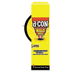d-CON® DISPENSER MOUSE-RAT TRAP Ultra Set Covered Snap Trap, Plastic