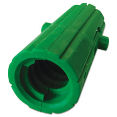 Unger AquaDozer Squeegee Acme Threaded Insert, Nylon, Green