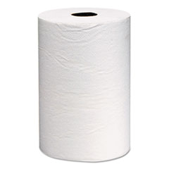 KIMBERLY-CLARK PROFESSIONAL* SCOTT Hard Roll Towels, 8 x 800ft, White, 12 Rolls/Carton
