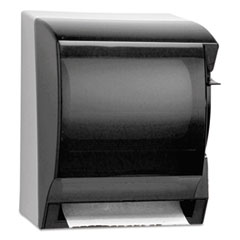 KIMBERLY-CLARK PROFESSIONAL* IN-SIGHT LEV-R-MATIC Roll Towel Dispenser, 10 3/4w x 9 3/5d x 13 3/4h, Smoke/GY