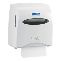 KIMBERLY-CLARK PROFESSIONAL* SCOTT SLIMROLL Hard Roll Hand Towel System, 12 x 7 x 12 1/2, White