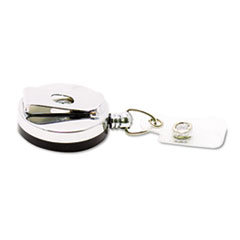 Advantus Premier Heavy-Duty Retractable ID Card Reel, 24