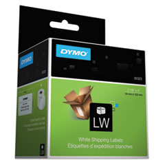 DYMO LabelWriter Shipping Labels, 2 1/8 x 4, White, 220 Labels/Roll