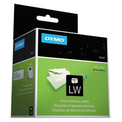 DYMO Address Labels, 1-1/8 x 3-1/2, White, 700/Box