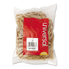 Universal Rubber Bands, Size 33, 3-1/2 x 1/8, 160 Bands/1/4lb Pack